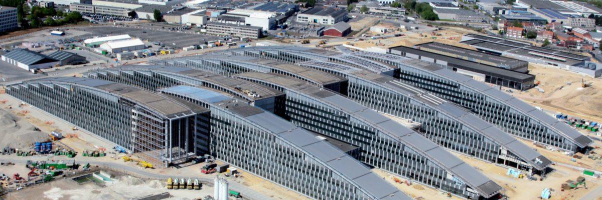 Vue aérienne © VK Group Architectes - www.vkgroup.be